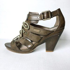 Calvin Klein lace up cage sandal - size 9